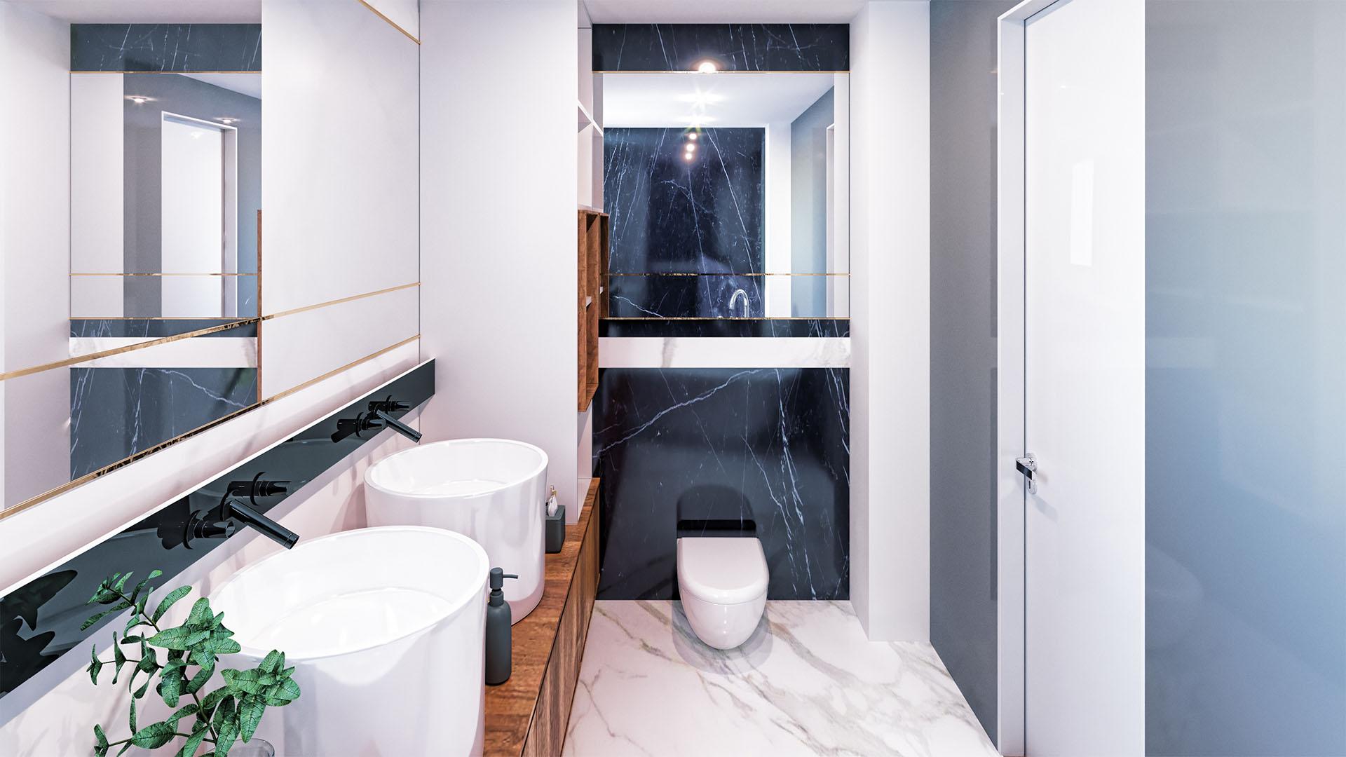 Sunset Lake Homes - propunere amenajare apartament 5